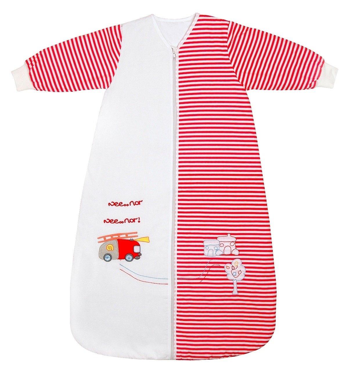 Amazon.com: SlumberSafe Winter Baby Sleeping Bag Long Sleeves 3.5 Tog Fire Egine 0-6months/SMALL: Baby