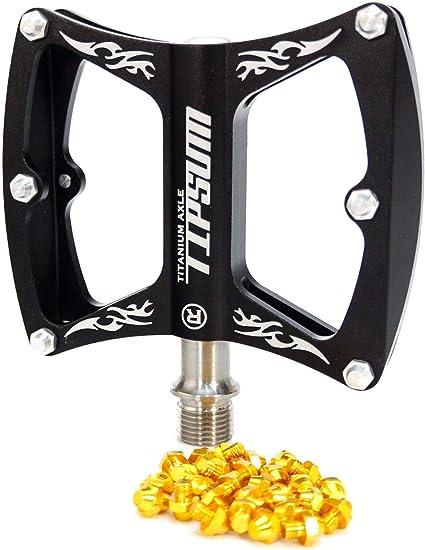 2pcs Super Light MTB Road Bike Wheel Release Skewer CNC Titanium Axle 5 Color