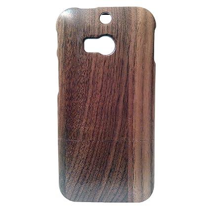 Amazon.com: Handcrafted Natural madera de sapele carcasa de ...