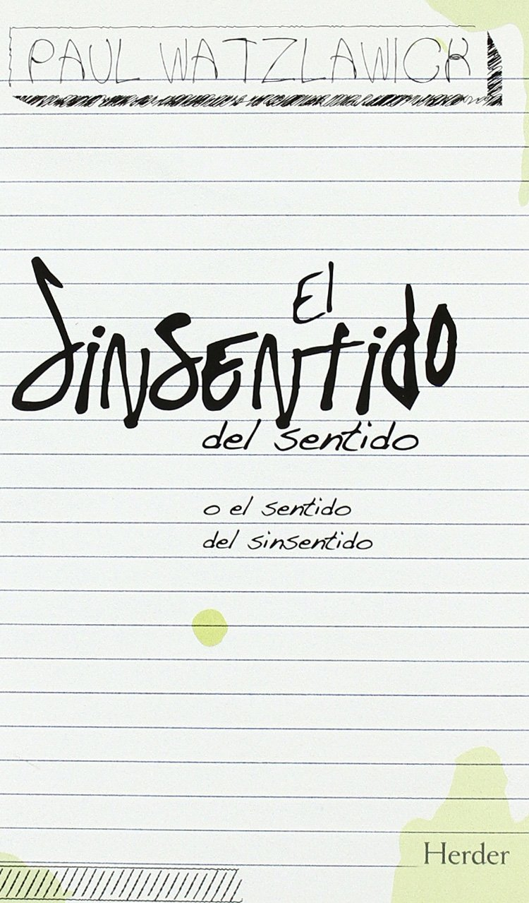 Download El sinsentido del sentido (Spanish Edition) pdf