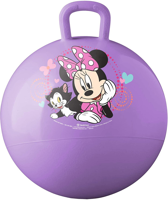 Hedstrom Minnie Mouse Happy Helpers Hopper Ball, Hop Ball for Kids, 15 Inch (55-73301AZ-A)