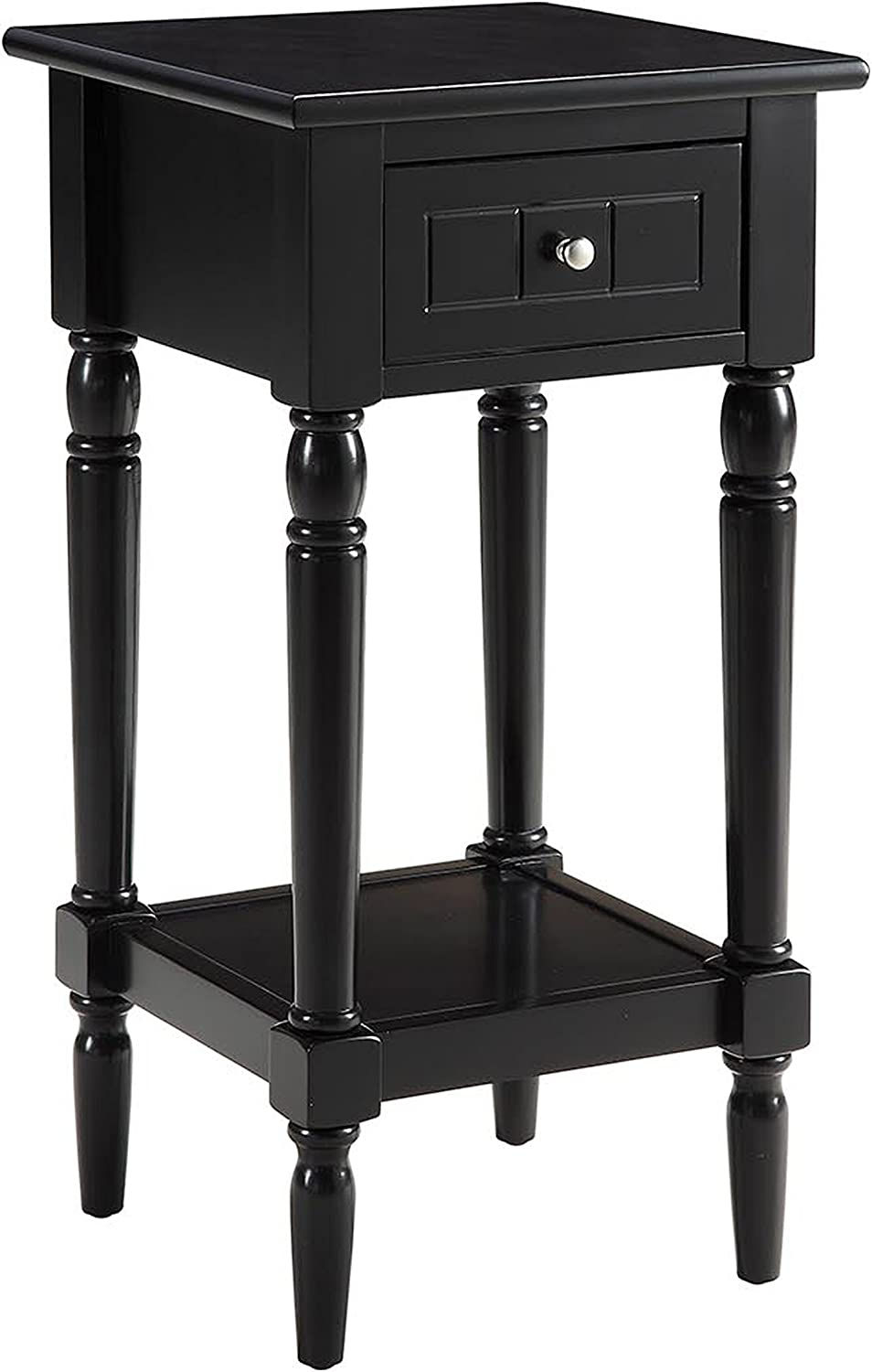 Convenience Concepts French Country Khloe Accent Table, Black