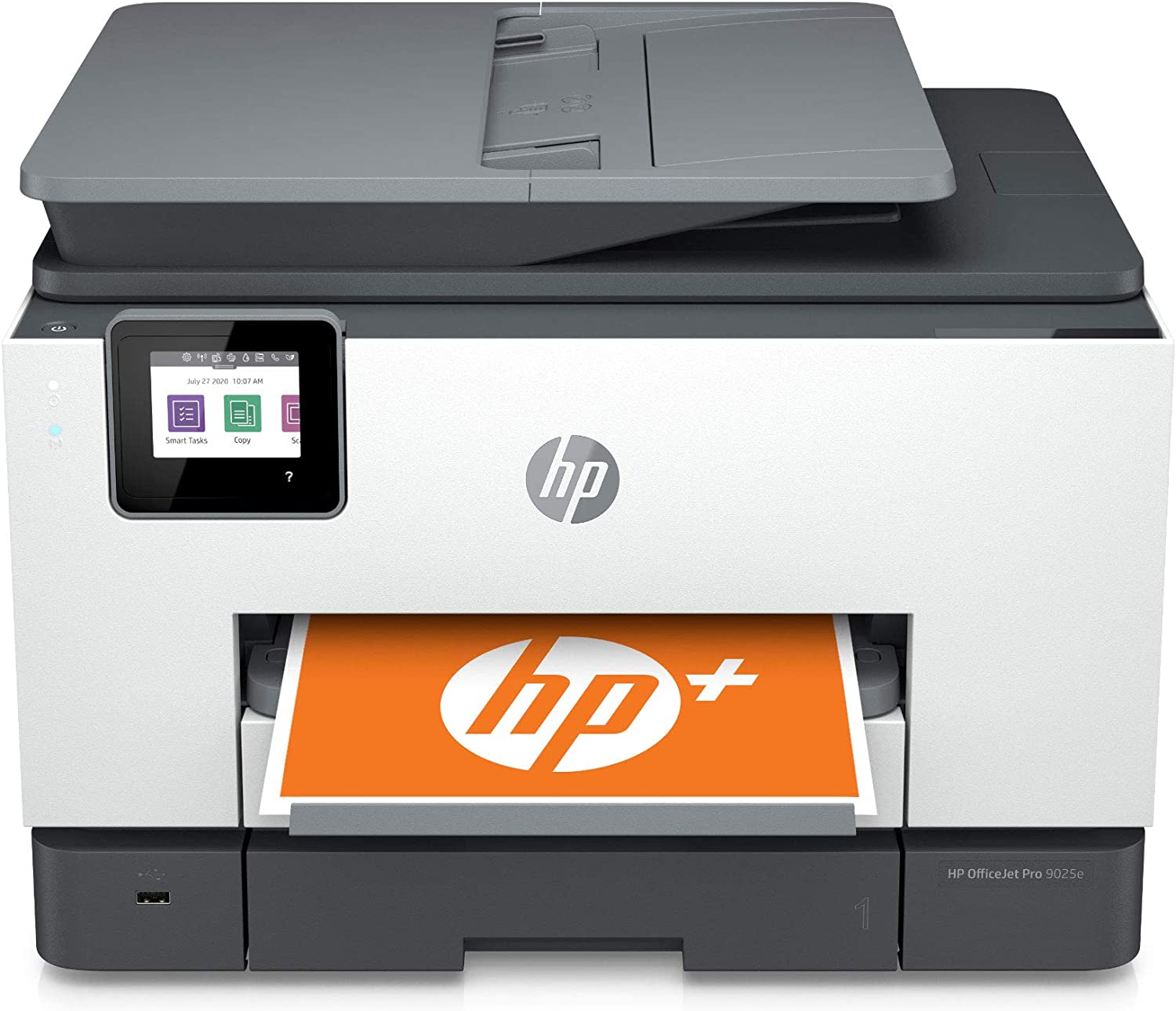 HP OfficeJet Pro 9025e All-in-One Wireless Color Printer for home office, with bonus 6 months free Instant Ink with HP+(1G5M0A)