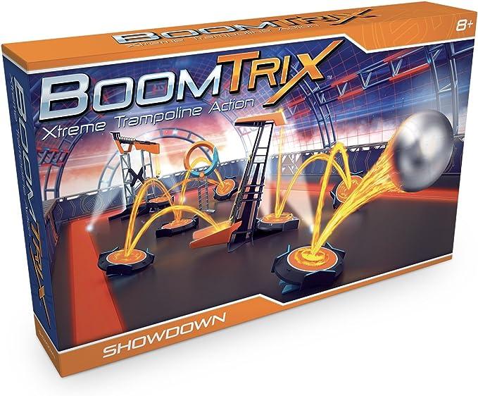 Goliath- Boomtrix: set de exhibición - juego de canicas profesional, Color naranja/azul (80603) , color/modelo surtido: Amazon.es: Juguetes y juegos