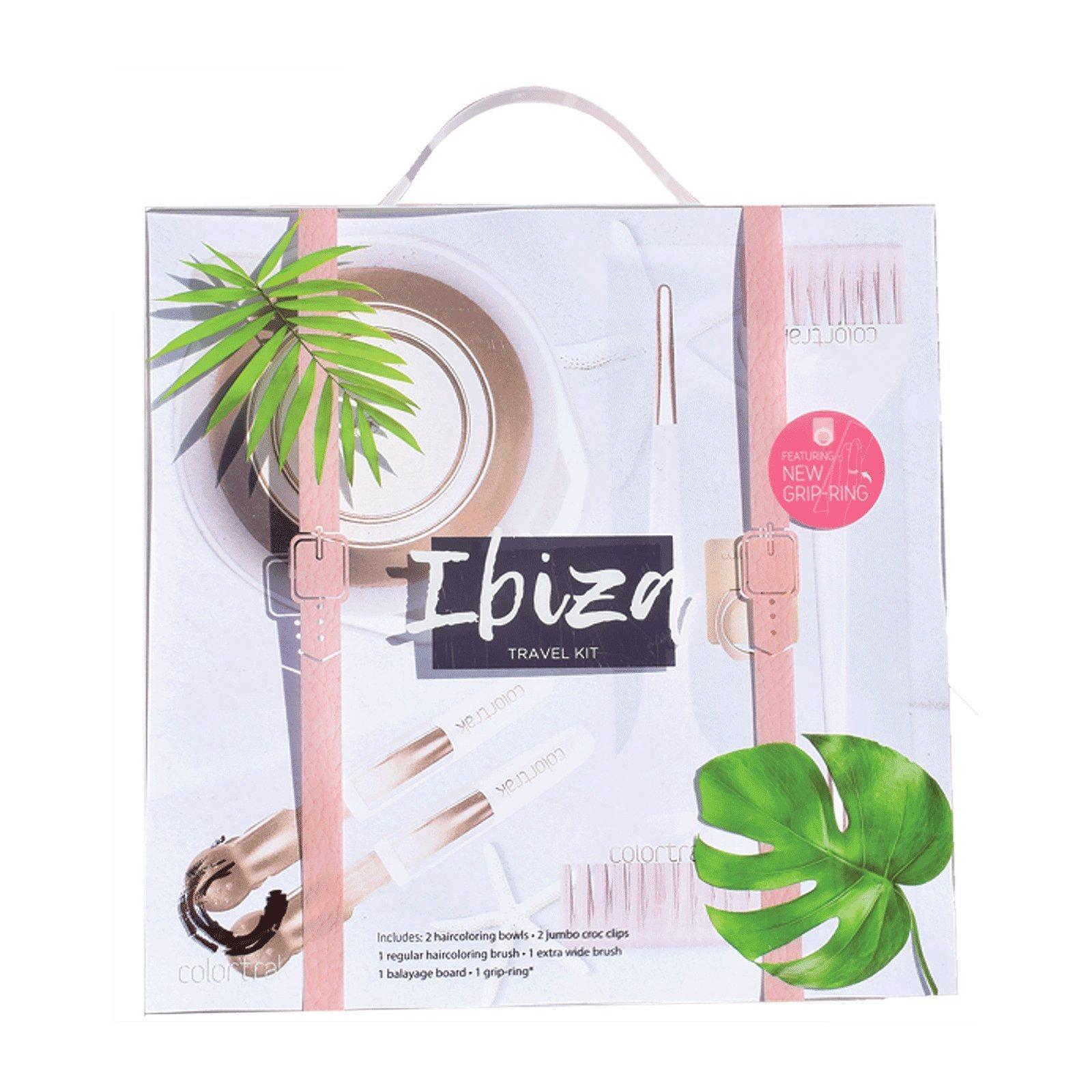 Betty Dain Colortrak Ibiza Collection Stylist Kit - Clips, Brush, Bowl, Board