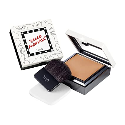 BENEFIT POWDER FLAWLESS BASE DE MAQUILLAJE NUTMEG: Amazon.es: Belleza