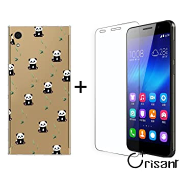 Funda Sony Xperia XA1 Ultra Pequeño Panda Suave Transparente ...