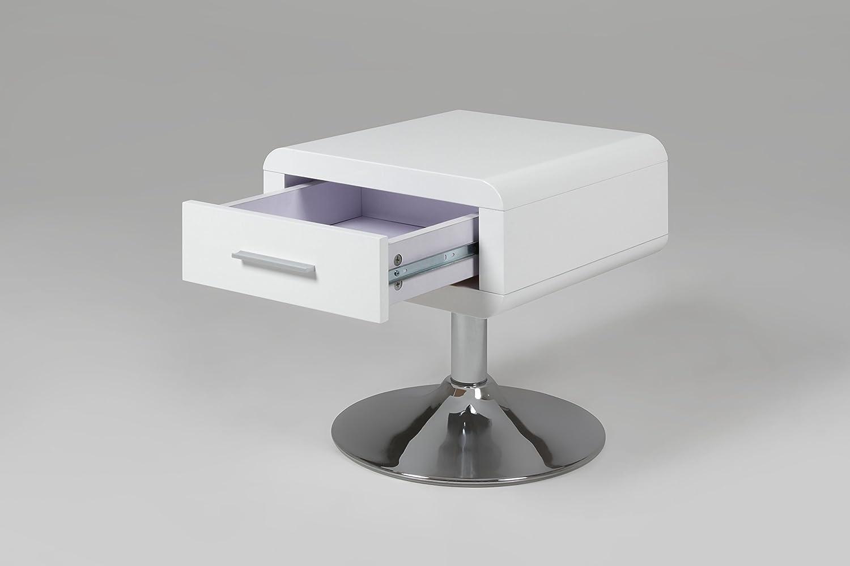 Nachttisch Metall Weiß ~ Ac design furniture nachttisch josefine mit schublade