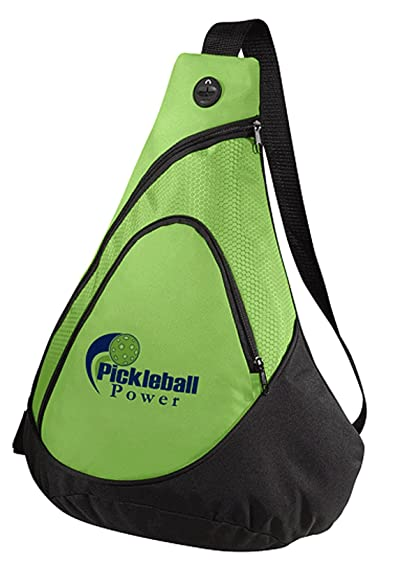 Pickleball Honeycomb Sling Bag
