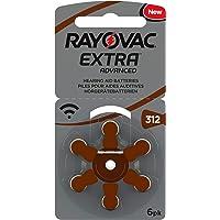 120 Rayovac 312 - Paquete de pilas para audífonos pila PR41, compatible con 312AE, A312, DA312, P312, PR312H