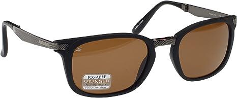 SERENGETI Volare - Gafas de sol plegables, satinadas, color negro ...