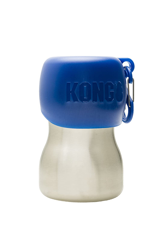 KONG H2O Stainless Edelstahl Wasserflasche, 0.28 L, S schwarz KGSS95