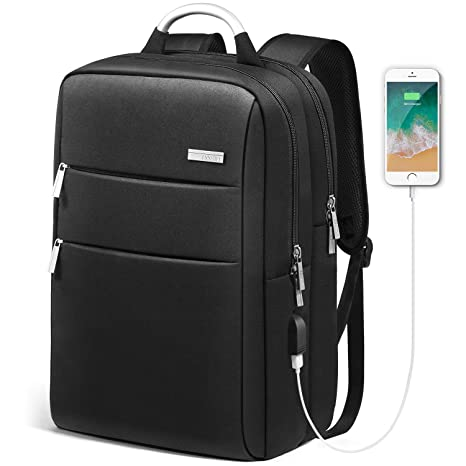 Amazon.com  HOMIEE Laptop Backpack with USB Charging Port c57aa285b86f0