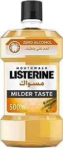 Listerine Mouthwash Milder Taste 500 ml