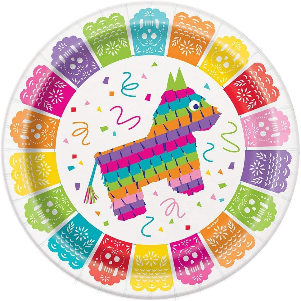 Unique Party 58688-13ft Papel Picado Mexican Fiesta Banner