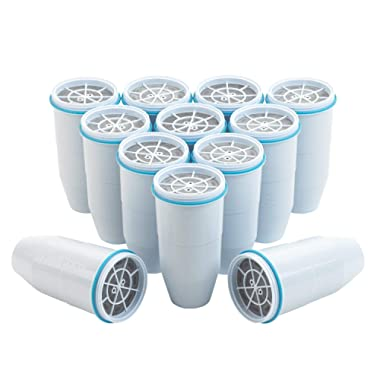 ZeroWater Replacement Filter for Pitchers, 12-Pack - ZR-012