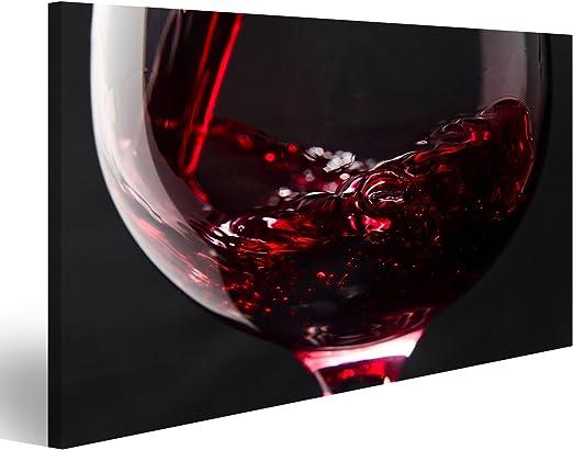 islandburner Bild Bilder auf Leinwand Rotwein Wird in