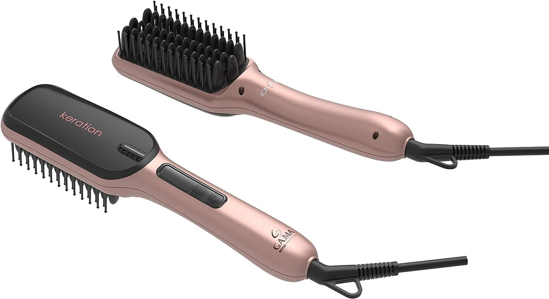 Gama Italy Professional Innova Extreme Keration, cepillo eléctrico alisador con la innovadora tecnología Micro Glitt: Amazon.es: Salud y cuidado personal