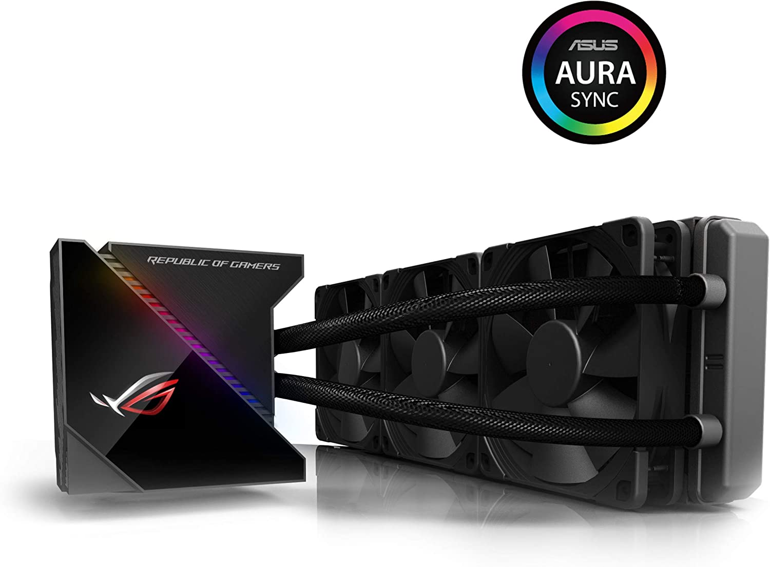 ASUS 90RC0020-M0UAY0 ROG Ryujin 360 All-in-One Liquid CPU Cooler - Black