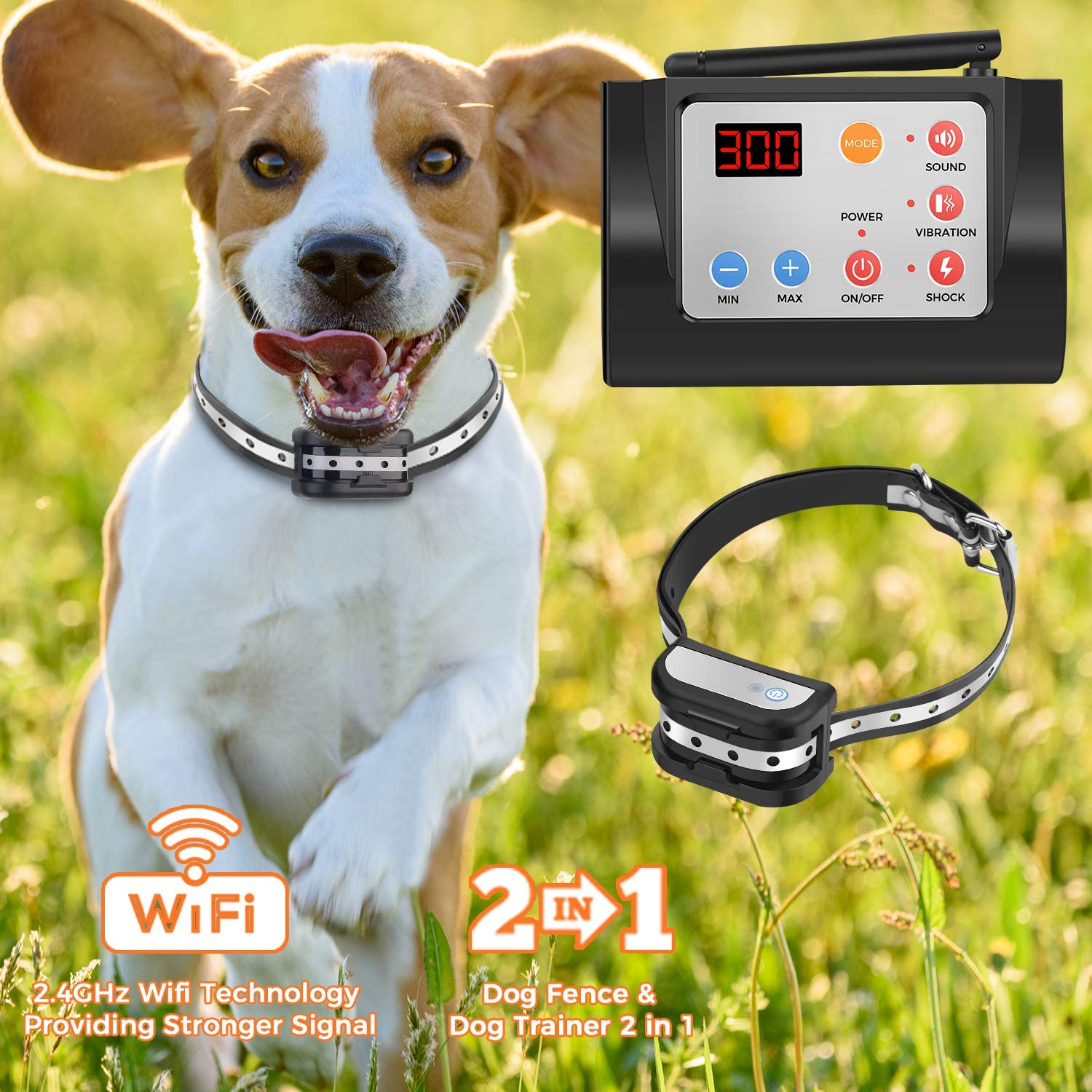 Best wireless electric dog fence 15