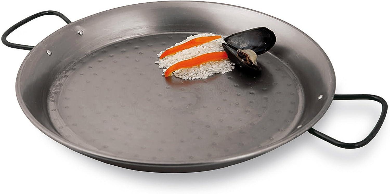 World Cuisine A4172322 Paella pan Silver 8 5//8in