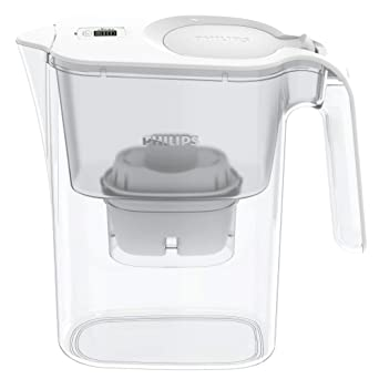Brita compatible White Philips AWP2935WH//10 Micro X-Clean Fast Flow Water Filter Jug 2.6 litres