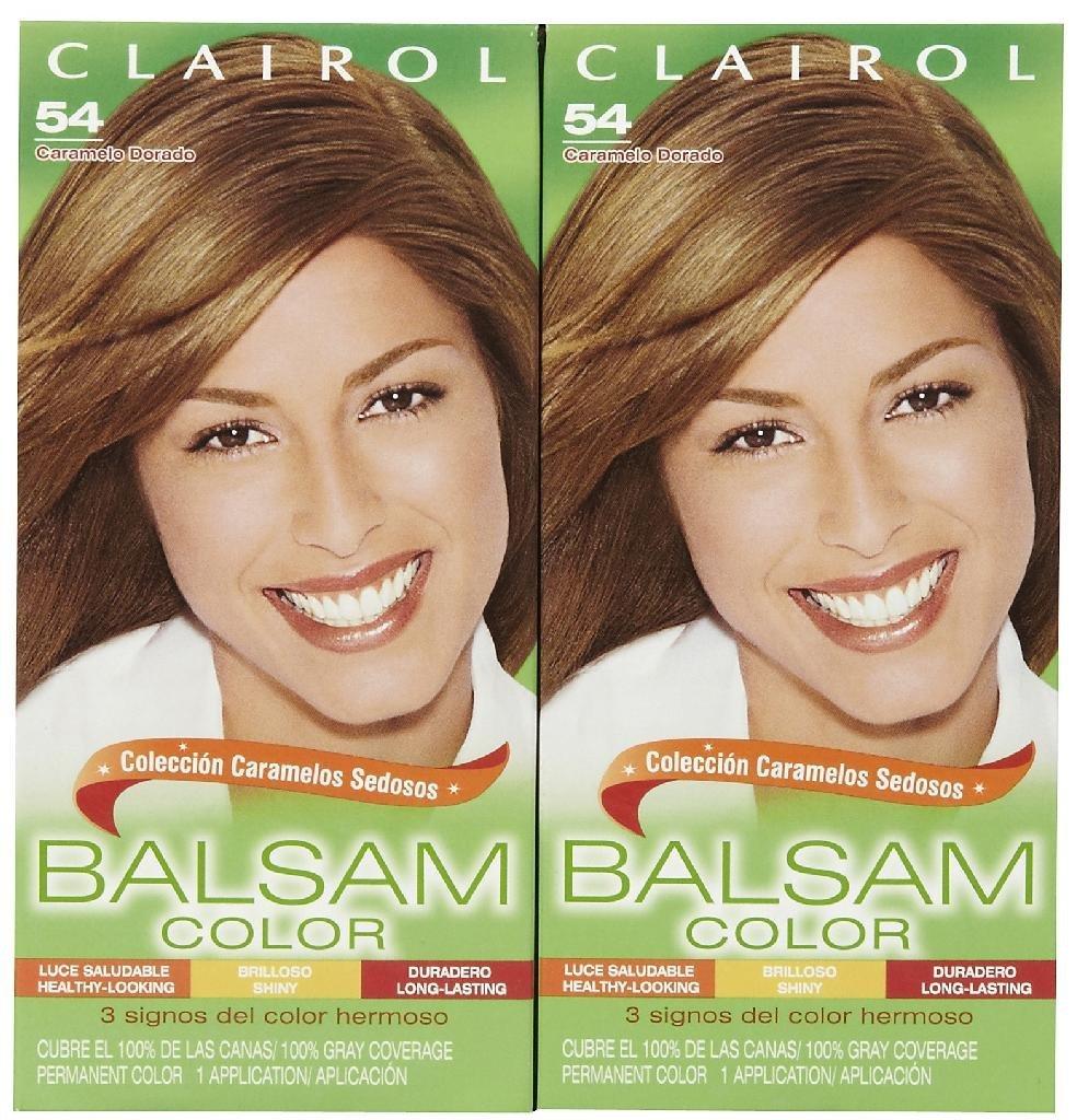 Amazon Clairol Balsam Hair Color Light Golden Brown 54