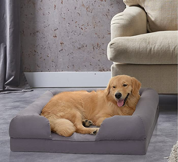 Petlo Orthopedic Pet Sofa Bed - Best for Dogs that Have Trouble Getting Up