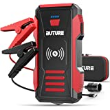 BUTURE 2500A Peak Car Jump Starter (up to All Gas, 8.0L Diesel Engine), 23800mAh Power Bank with 10W Wireless Charger, 12V Au