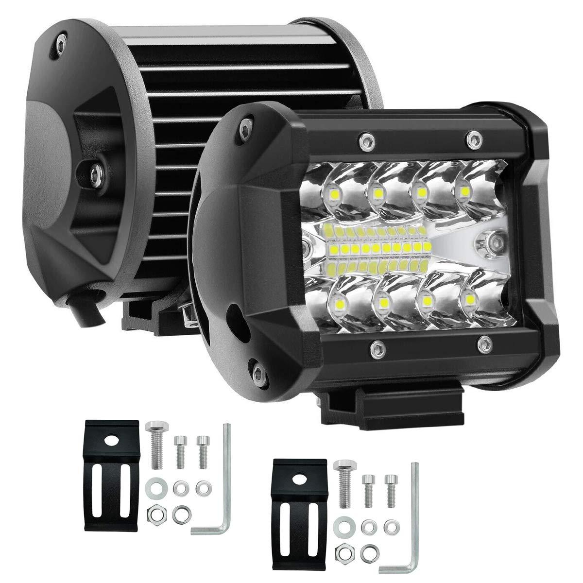 17,8 x 15,2 cm rechteckig Schwarz mit DRL f/ür Wrangler YJ Cherokee XJ H6054 H6054LL 69822 6052 6053 7x6 inch 105 AUXTINGS LED Scheinwerfer 12,7 x 17,8 cm