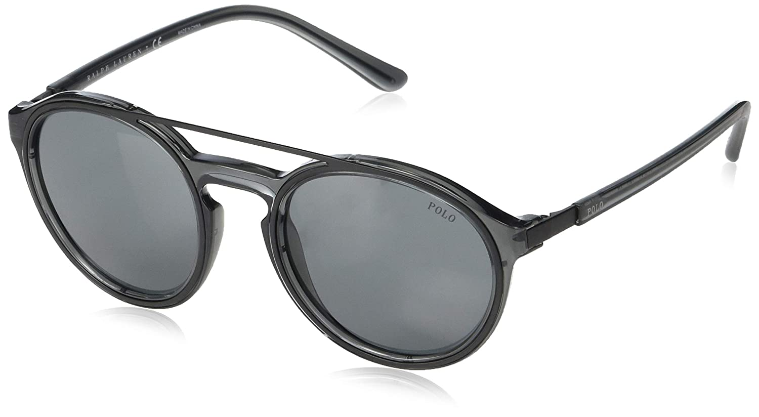 Amazon.com: Gafas de sol Polo PH 4139 569687, color gris ...