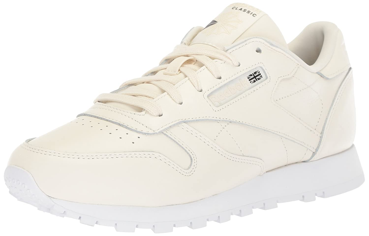 Reebok Women's Cl Lthr X Face Walking Shoe B072JNN4LN 11 B(M) US|Classic White/White/Black