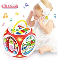BAOLI 6 in 1 Baby Musical Activity Cube Center Toy for Toddlers Boys Girls Gifts 18Months and up Preschool Educational…