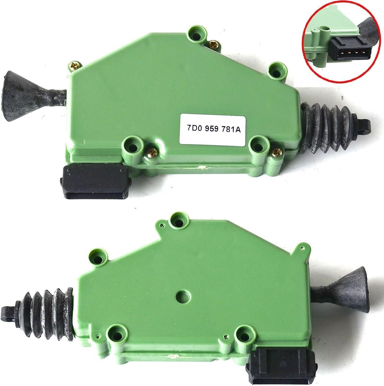 2x Stellmotor Zentralverriegelung Zv Elektrisch 7d0959781a Auto