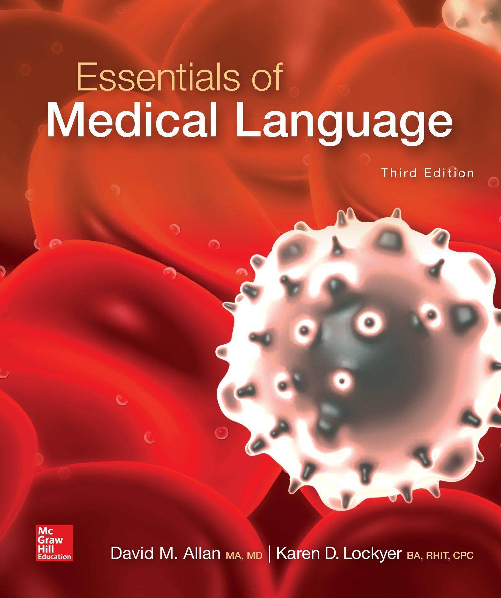 Essentials of Medical Language (P.S. Health Occupations)