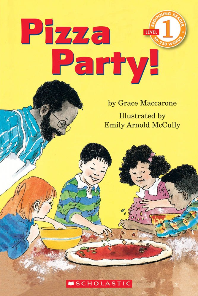 Amazon Pizza Party Hello Reader Level 1 9780590475631 Grace Maccarone Emily Arnold Mccully Books