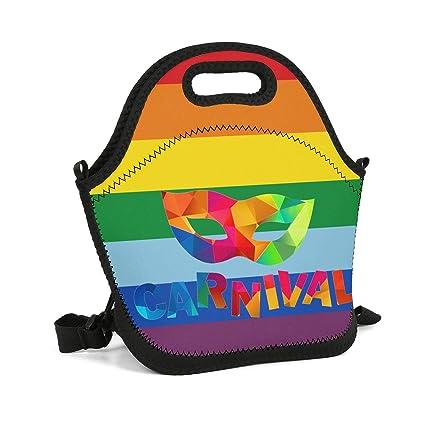Amazon.com - Milr Gile Custom Lunch Box Bright Rainbow ...