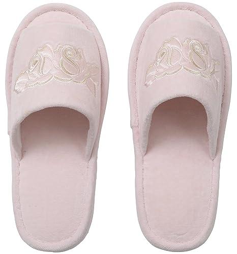 Brillantes zapatillas rosas Rose (jap?n importaci?n)
