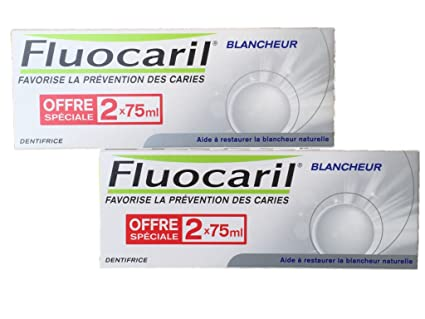 Amazon.com: Fluocaril Whitening Toothpaste Pack Of 4X 75Ml: Health & Personal Care