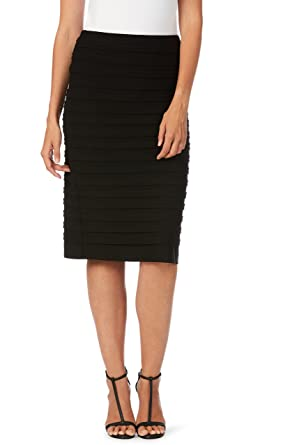 5df80806240e Liz Jordan Valarie Skirt Black 16 at Amazon Women's Clothing store:
