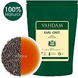 VAHDAM, foglie di tè Earl Grey imperiali (200 tazze) - Olio di bergamotto naturale al 100% miscelato con tè nero fresco da giardino, floreale e agrumato, busta da 454gr, foglia verde fresca con foglie di tè