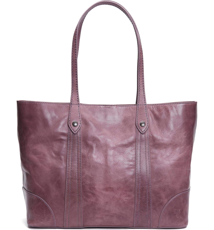 [フライ] レディース トートバッグ Frye Melissa Leather Shopper [並行輸入品] B07NRQQJ3G  One-Size