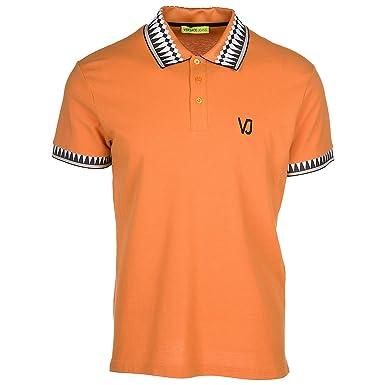Versace Jeans Polo Hombre Arancione 48 EU: Amazon.es: Ropa y ...