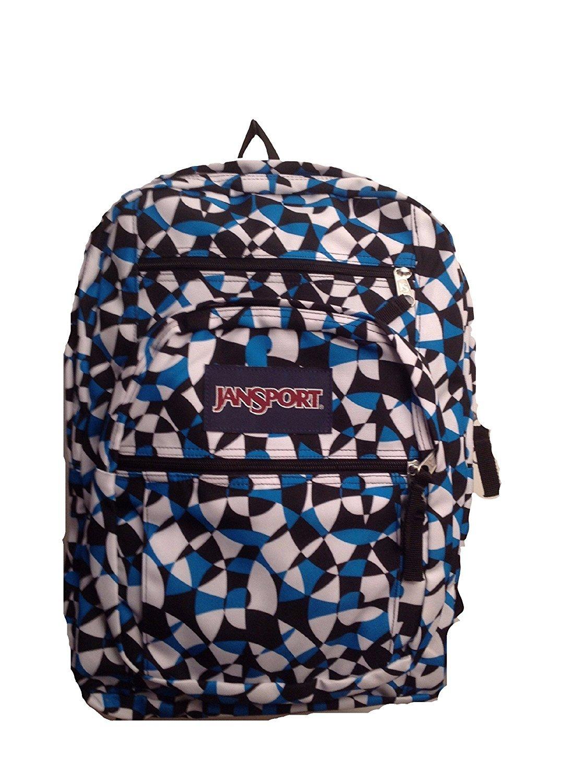 JanSport Big Student Backpack (Blue Dizzy Swirl)