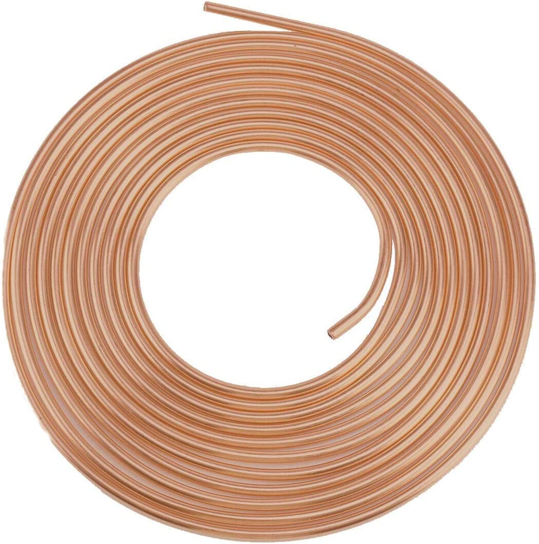 for Car Truck Motor Includes 16 Fittings of 3//16 inch Brake Line Copper-Nickel Brake Line Fitting Kit and Flexible Tubing Coil Eastyard 25 Ft
