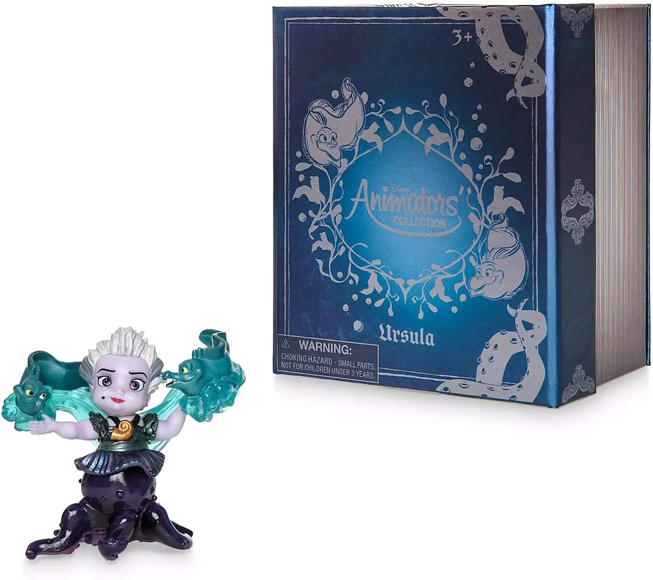 Amazon Com Le Disney Animators Collection Ursula Vinyl Figure The Little Mermaid 3 Toys Games