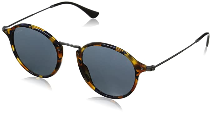 Ray-Ban RB 2447 Gafas de sol, Spotted Blue Havana, 49 para Hombre