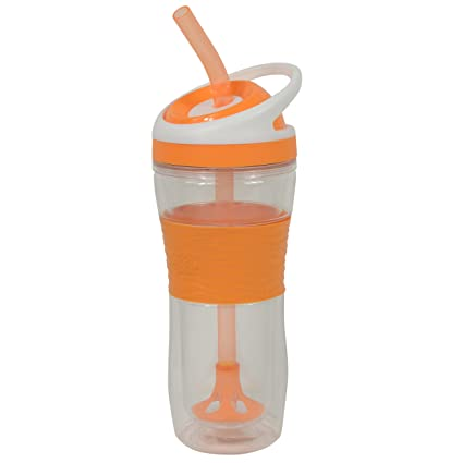 66b50ec9dc4 Cool Gear Smoothie Tumbler, 20 oz, Orange