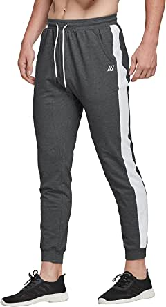 LABEYZON Men's Athletic Pants Workout Sweatpants Running Jogger Track Gym Pants with Pockets