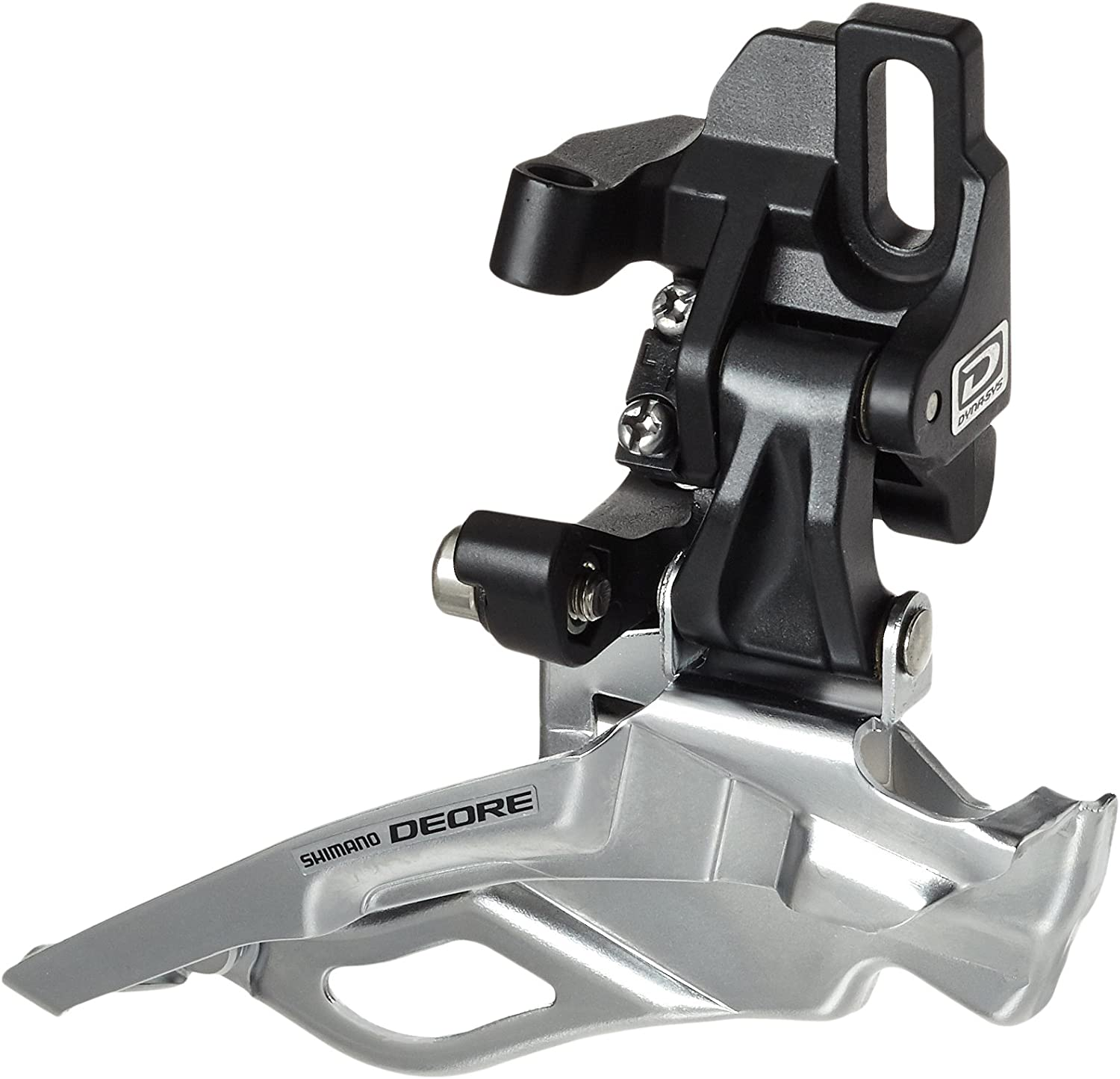 Shimano Deore FD-M611 3 x 10-Speed Triple Top Pull Direct Mount Front Derailleur